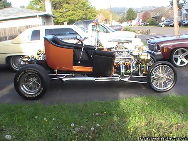 1927 CUSTOM FORD T BUCKET VINTAGE TIN - Price: 25000.00