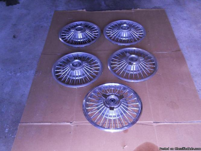 1963 wire wheel hub caps 14
