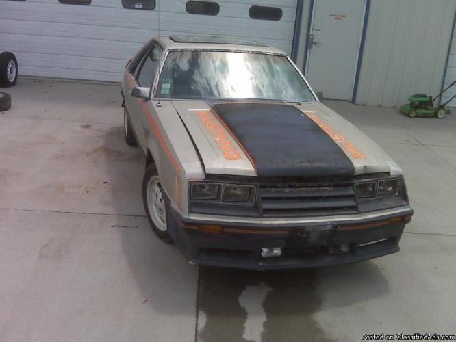 1979 Mustang Indy Pace Car, - Price: 2250.00