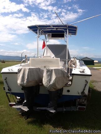 1994 fishing boat, Celebrity 23' - Price: $13,000