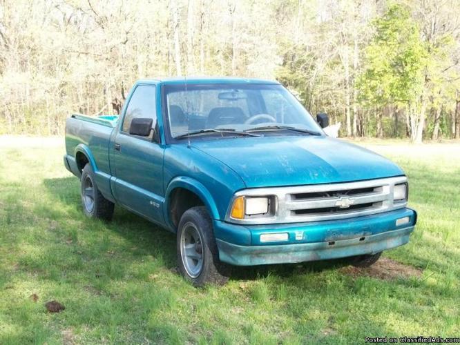 1996 Chev S10 V6 Truck