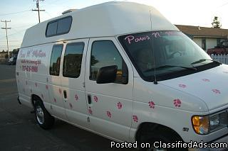 1999 E250 ext. Mobile Pet Grooming Van - Price: $10,000 obo.