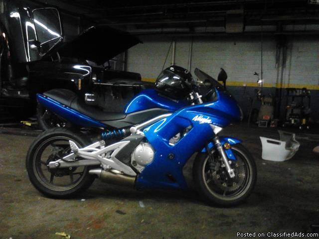 2007 Ninja 650 - Price: 2,800