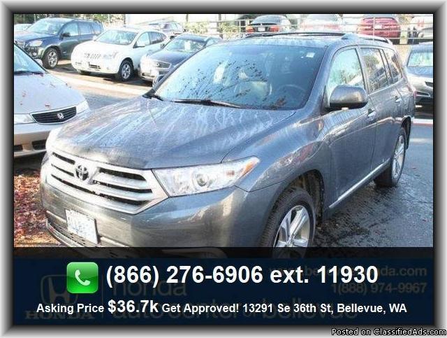 2012 Toyota Highlander Limited SUV