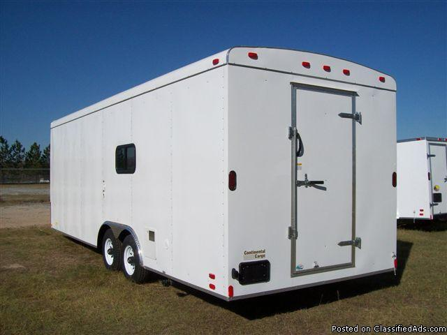 8.5ft x 24ft Length Concession Trailer - Price: $21,499