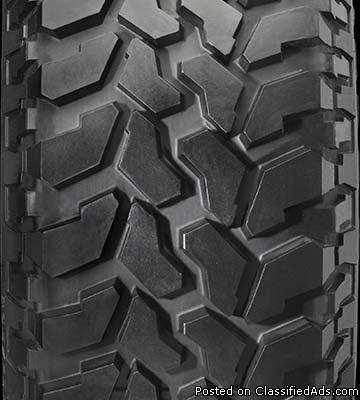 All Weather Firestone Tires w/ Toyota 4runner Rims