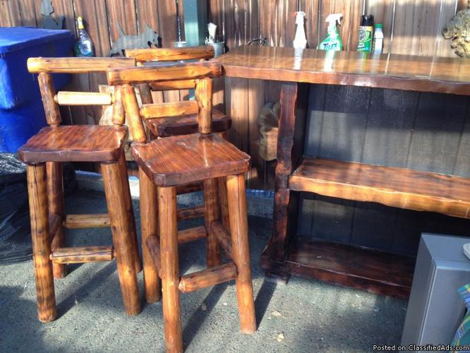Bar and stools - Price: $125