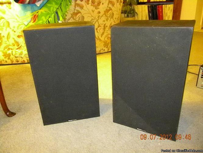 Boston Accoustics Speakers (pair) - Price: 50.00
