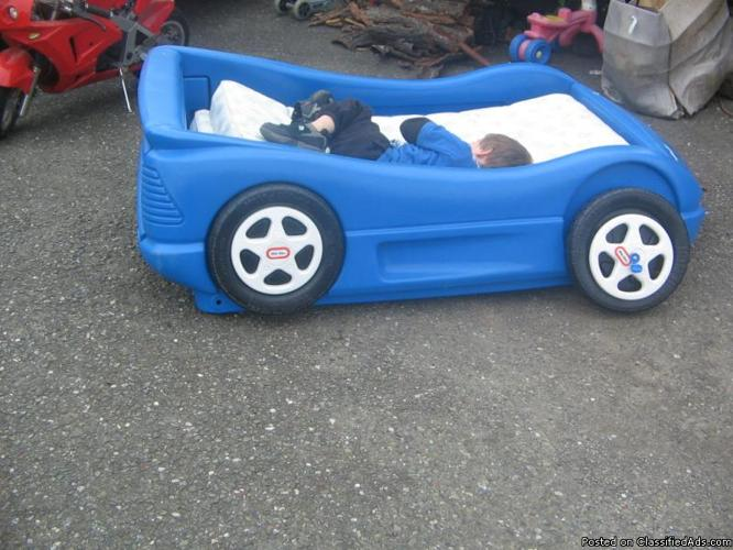 CAR BED FOR SALE (BLUE) - Price: $20.00