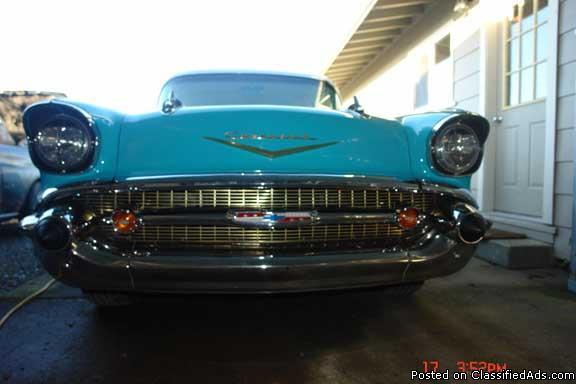 chevy bellair 57 - Price: $25,000.00