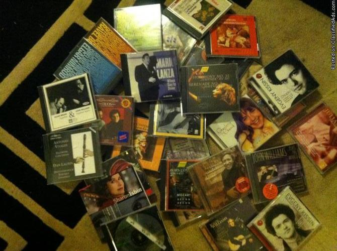 classical music CD s - Price: 150.00 for all