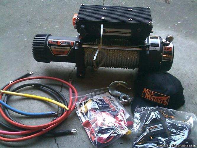 Complete Winches for sale with control box and mounting kit - Price: Starting at 650