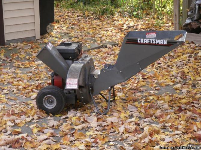 Craftsman 5hp Chipper Shredder Price 125 00