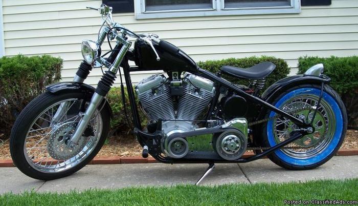 custom built bobber - Price: $11,000.00