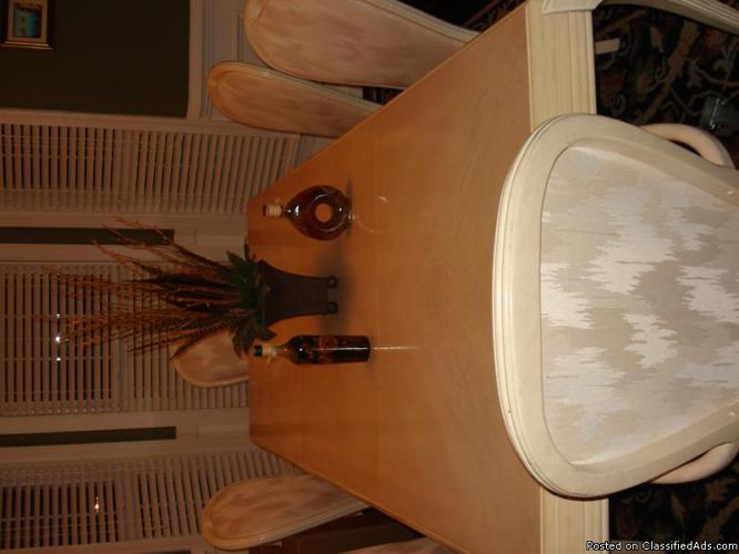Dining room table set and kitchen table set - Price: $980 & $400