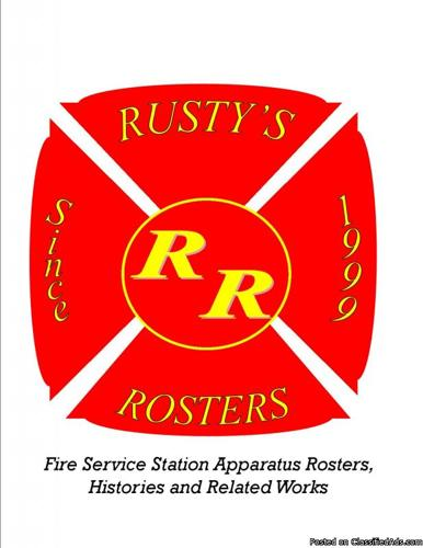 Fire Department History Books & Apparatus Lists - Price: $7.00 and up