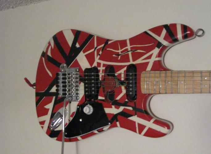 Frankenstrat guitar, Eddie Van Halen
