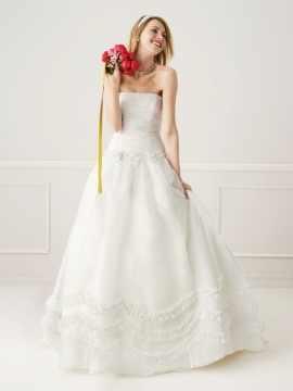 Galina ballgown wedding dress be a princess. - Price: 300