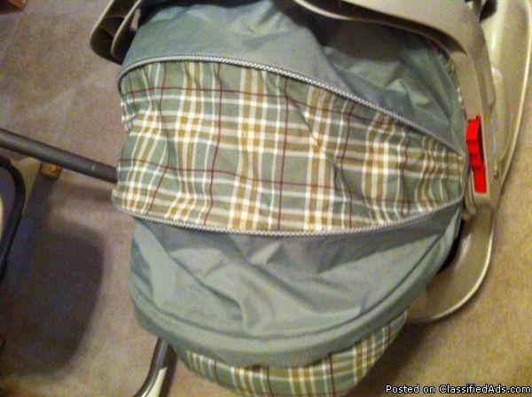 Graco Snug Ride Unisex Travel System (stroller, infant seat, 2 bases) - Price: 180 obo