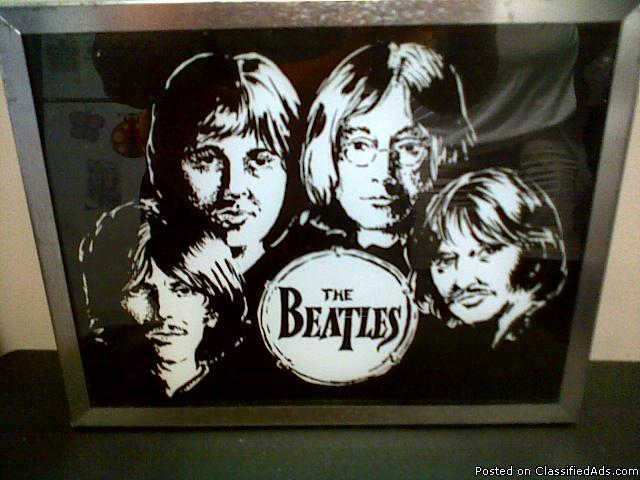 Mirror picture of the Beatles - Price: 1000.00