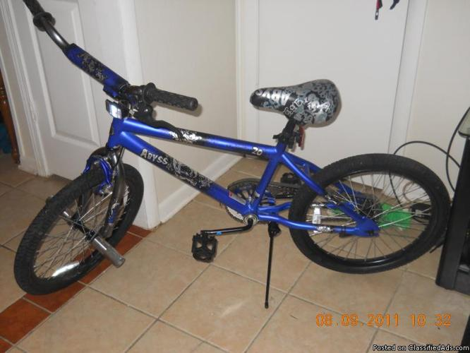 Bike Pegs For Sale NEW Blue BMX Abyss Bike inch