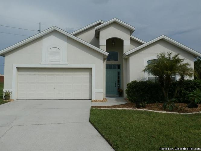 NEWLY Listed NICE HOME just minutes from DISNEY & Orlando Attractions