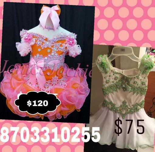 Pageant dresses for little girl