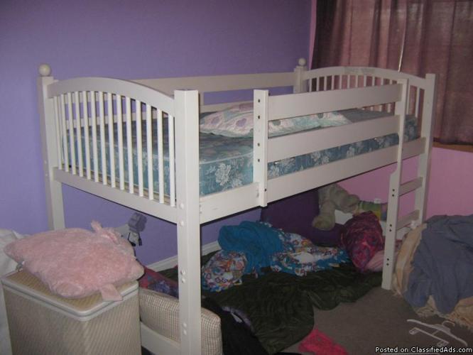 Princess Style Bunk Bed - Price: 300