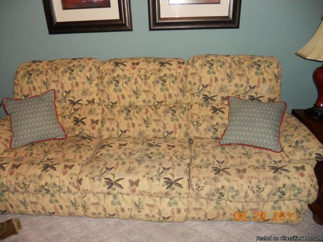 Reclining Sofa and Loveseat - Price: $250.00