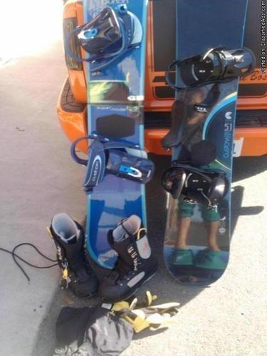 snowboards - Price: $300 for both
