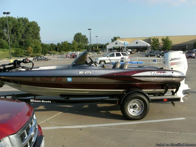 TRITON TR175 Bassboat For Sale - Price: $12,500