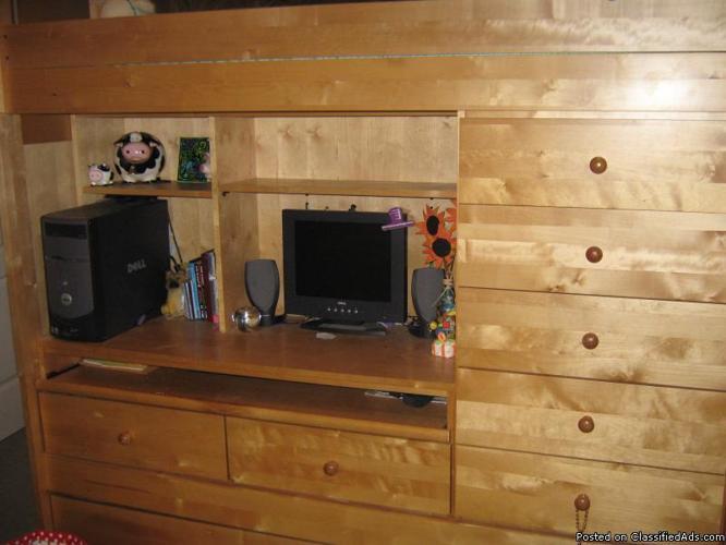 Tween Bunk Bed - Price: 300