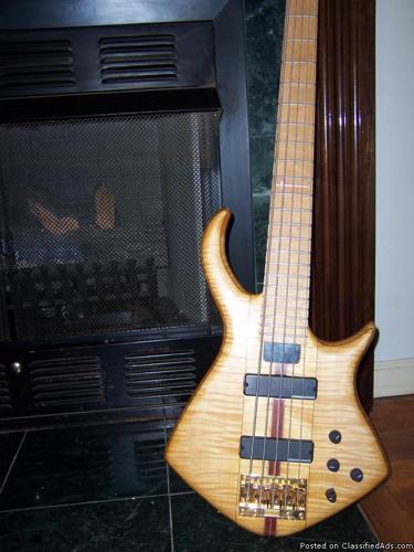 Warrior Bass Guitar - Price: 3,500.00 /make offer