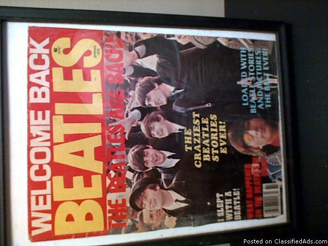 Welcome back Beatles - Price: 1500.00
