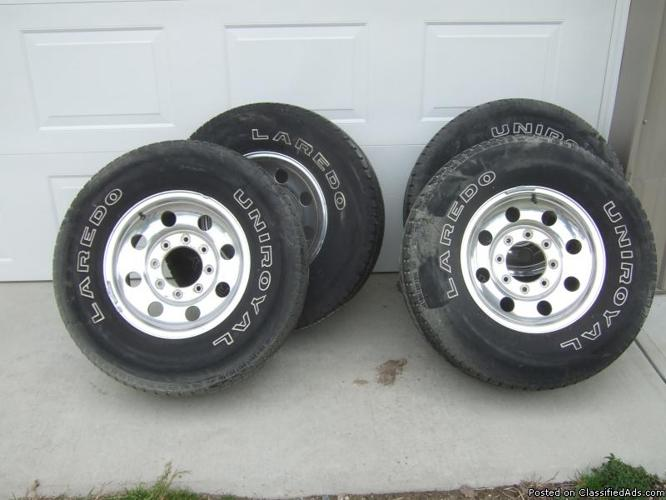 wheels and tires - Price: 250.00