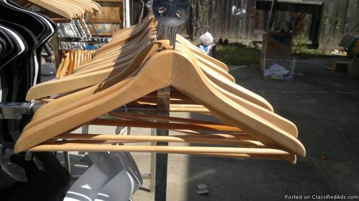 Wood Hangers - Price: 1.00 each