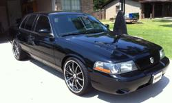 "For Sale is a 2003 Mercury Marauder with 135k miles. 1 of only 8330 ever produced. This car has not one mechanical issue & is a combination of luxury & power. It has 22"" staggered Asanti AF134 black & chrome rims on it with brand new Nitto Sport tires."