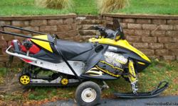 07 mxz 500ss with electric start and reverse,4900 miles real nice condition