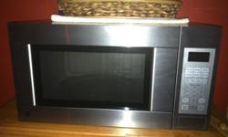 NEW GE MICROWAVE HAVE PAPERWORK. DO NOT NEED HAVE NEW HOME WITH BUILT IN MICROWAVE. CALL DO NOT TEXT ME --.