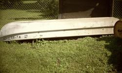12 FOOT ALUMINUM BOAT ,MIRROCRAFT BOAT Cash only!