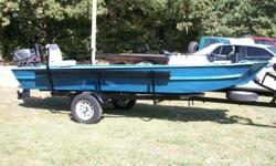 14' boat, motor and trailer, 18 HP Nissan, $1250.00, call 256-775-2917 or 256-775-2917, Jonesboro, Ar.