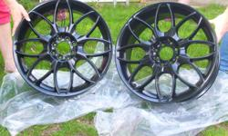 18 Inch Rims 5 Bolt Hole Pattern Black in Color Brand New Never been used STILL IN PLASTIC