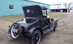 New Paint & Top, tires like new, older   restoration, in good condition, turn & brake lights, runs good,