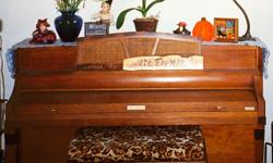 My 1940s Baldwin Console is in good to fair condition and needs a new home, asap. I'm moving and can't take it with me!