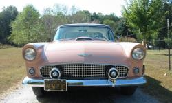 Feel free to email: rosaliertthomaston@leedsfans.com . THE BEST UNRESTORED ORIGINAL SURVIVOR 1956 FORD THUNDERBIRDS EXHISTING IN THE WORLD TODAY. FIRST LET ME SAY, ORIGINAL AND SURVIVOR ARE TWO OF THE MOST OVER USED AND OVER STATED DESCRIPTIONS IN THE OLD