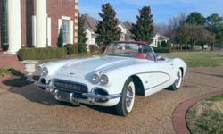 """1962 Chevrolet Corvette """"Export Vette"""" For Sale in Rogers, Arkansas 72758 Known as the """"Export Vette"""", this extremely rare 1961 Corvette is the only '61 of its kind known to exist in this country. The car had a complete ground up - frame off"""