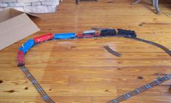 moving and found my old Lionel train set great condition, has bobbing giraffe asking 300 dollars cash