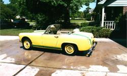 1964 Austin Healy - Sprite Very good body, in good condition to be restored.