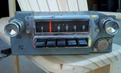 Good working condition. Original 1965-66 radio for Ford Mustang. Call (561)776-2000. Ask for Stu.
