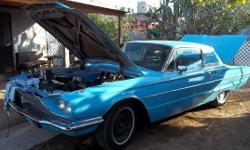 Selling a 1966 Ford Thunderbird for $7,000. The car is in good running condition. It's a '66, so it doesn't need emissions. It has a nice paint job on it. The interior is all original. For more information, you can call Junior at (803)254-2525, or call